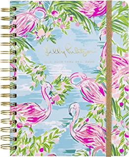 "$30 » Lilly Pulitzer Large Aug. 2019 - Dec. 2020 17 Month Hardcover Agenda, 8.88"" x 6.75"" Personal Planner with Monthly and Weekly Spreads, Floridita"