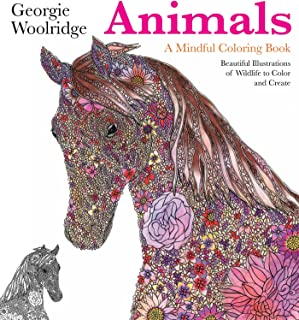 Animals: A Mindful Coloring Book