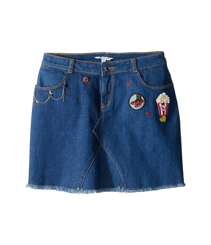 [マークジェイコブス] Little Marc Jacobs レディース Denim Skirt (Big Kids) スカート [並行輸入品]