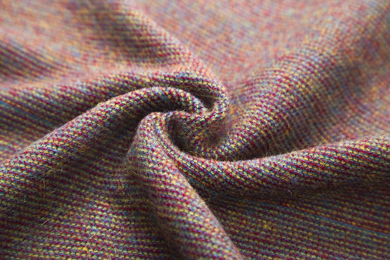 EXCHIC Frauen Warm Open Front Schals und Wraps Elegante Cardigans Poncho Cape Coat