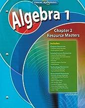Glencoe Mathematics Algebra 1 Chapter 2 Resource Masters