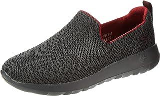 SKECHERS Go Walk Max, Men's Shoes, Multicolour (Black/Burgundy), 42 EU