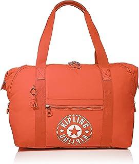 Kipling Art M Tote De Viaje Con Funda Para Carrito, 26 Litros, Naranja (Funky Orange Nc)