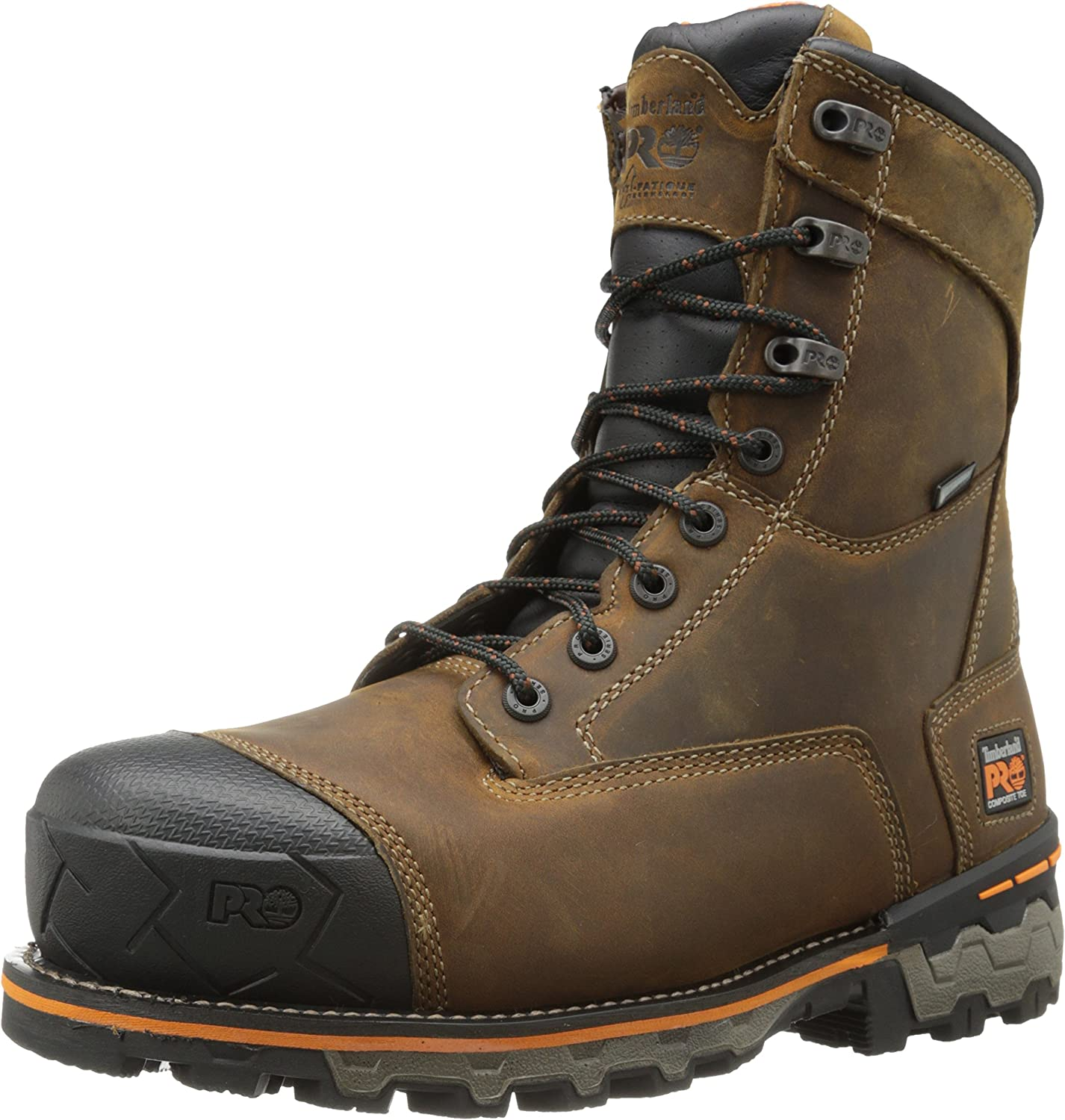 Timberland PRO PRO PRO Men's 8 Inch Boondock Composite Toe WP Industrial Work Boot,Brown Oiled Distressed Leather,7.5 W US B00HNO74IC f47eb5