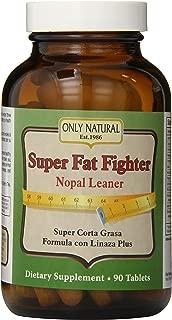 Only Natural Super Fat Fighter (nopal Leaner Formula), 90-Count