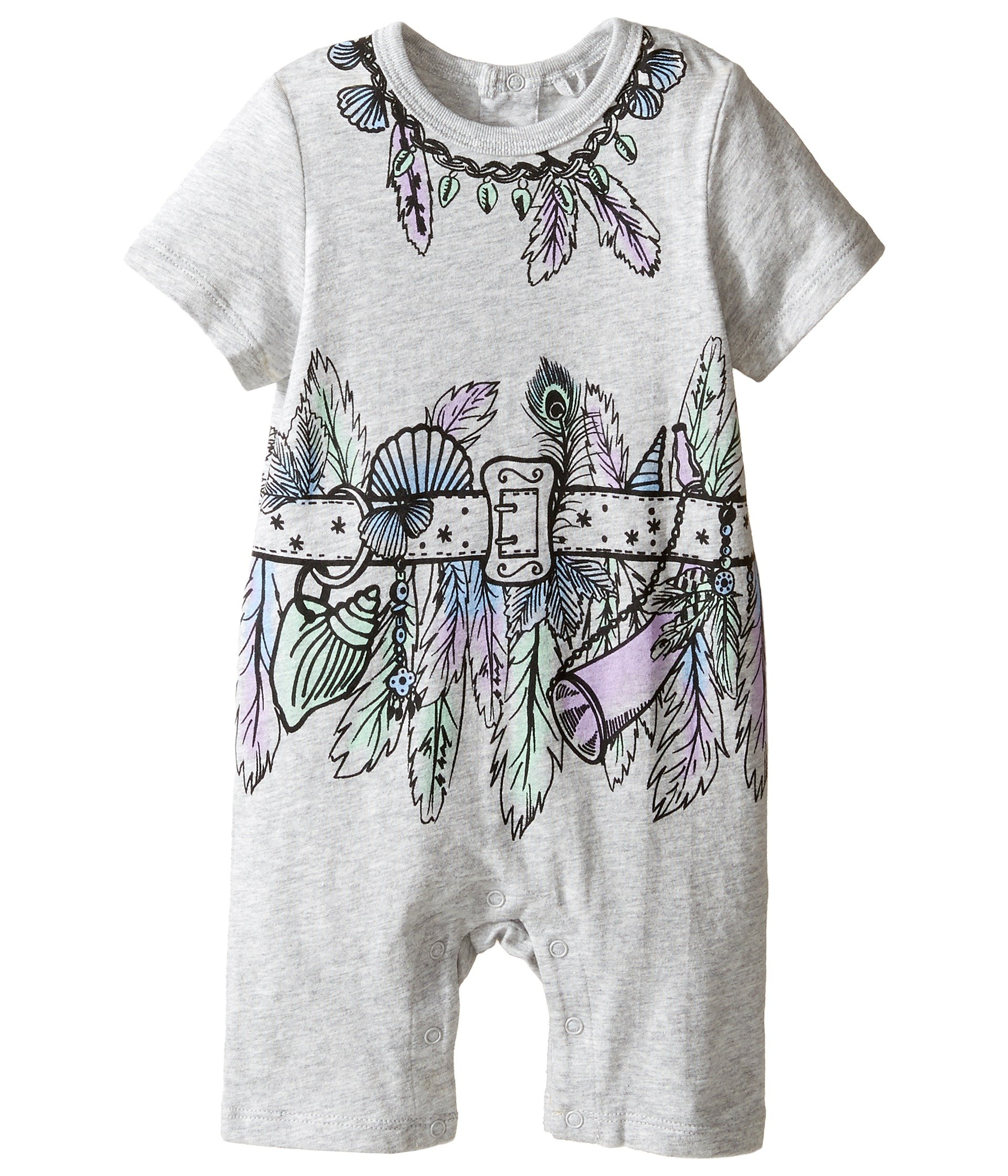 Enterizo para Bebe Stella McCartney Kids Kit All-In-One with Feather and Belt Graphic (Infant)  + Stella McCartney en VeoyCompro.net