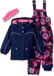 Pink Platinum Girls' Insulated Two-Piece Snowsuit