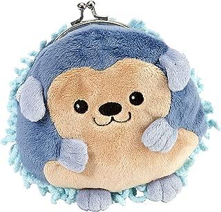 Clasp Blue Hedgehog Purse 6