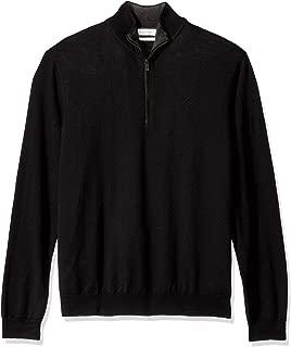 Men's Merino Quarter Zip Sweater