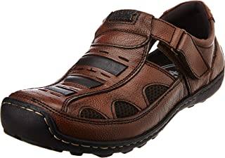 Alberto Torresi Men's Leather Sandals and Floaters