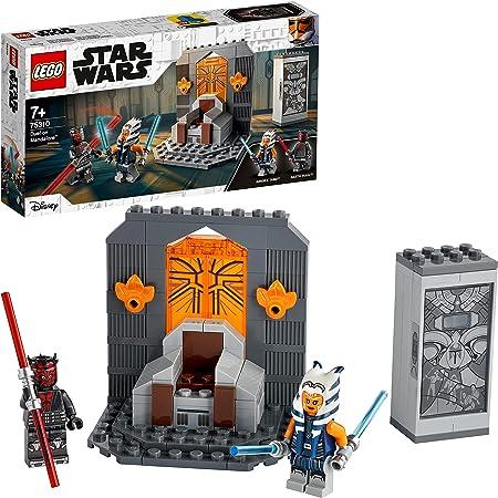 LEGO 75310 Star Wars Duell auf Mandalore™, Bauset für Jungen und Mädchen ab 7 Jahren mit Darth Maul und Lichtschwertern
