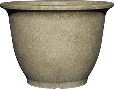"Classic Home and Garden 3/803CG/1 Premiere Collection Planter, Paragon 12"", Cloud Gray"