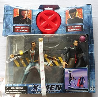 X-MEN THE MOVIE WOLVERINE LOGAN VS. MAGNETO ACTION FIGURE 2 PACK by X-Men: the Movie