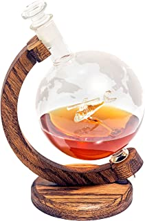 Helicopter Whiskey Decanter - Helicopter Gifts for Men & Women Who Love Bourbon, Wine, Liquor Decanter -1000ml Globe- Helicopter Pilot Gifts (Black Hawk Decanter) Aviation Gifts, Helicopter Decor