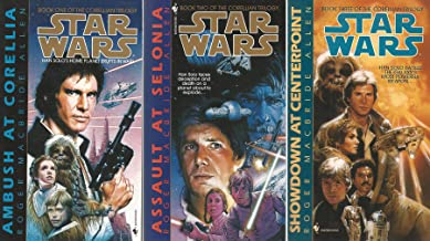 Star Wars Corellian Trilogy Book 1-3 Ambush At Corella, Assault At Selonia, Showdown At Centerpoint
