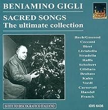 Vocal Recital: Gigli, Beniamino - Carnevalli, V. / Franck, C. / Bach, J.S. / Gounod, C.-F. / Cecconi, G. / Brahms, J. / Ka...