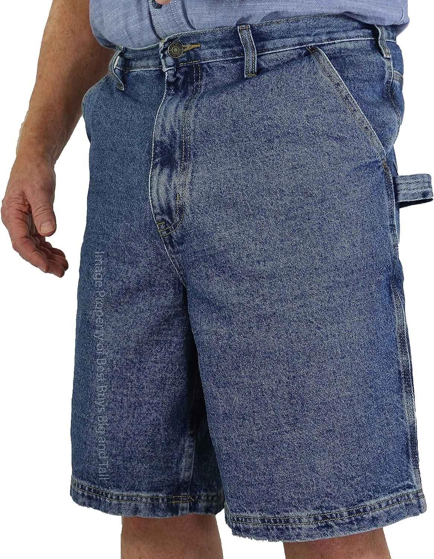 ROCXL Big & Tall Sizes 42 – 64 Men's Carpenter Denim Shorts