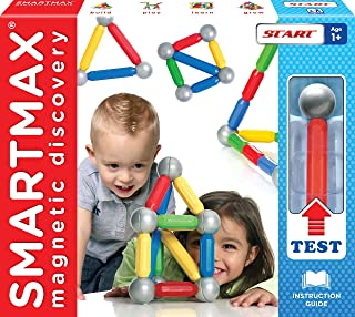 SMARTMAX SMX309 Start Magnetic Discovery Building Toys (Set of 23),Multicolor