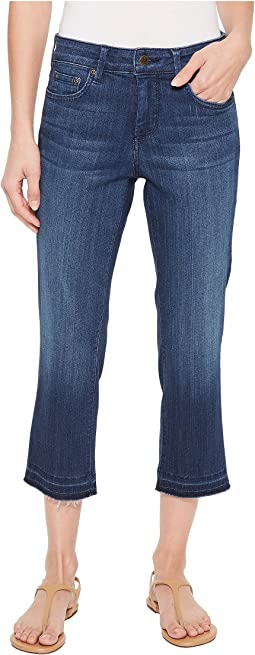 NYDJ Capris w/ Released Hem in Lark