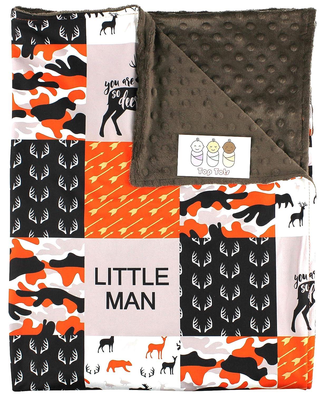 Baby Choice Blanket - Minky Deer Fox Max 77% OFF Moose Bear Goose Antlers and