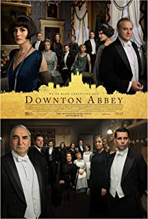Fullfillment Posters Downton Abbey Movie Poster Glossy Print Photo Wall Art Michelle Dockery, Matthew Goode, Tuppence Middleton Sizes 8x10 11x17 16x20 22x28 24x36 27x40#1 (24x36 inches)