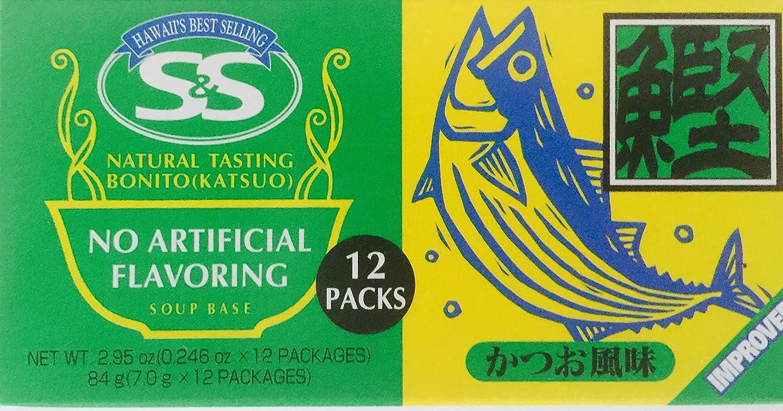 Natural Bonito Katsuo Instant Soup Base Made 2 Boxes supreme Japan in Max 49% OFF