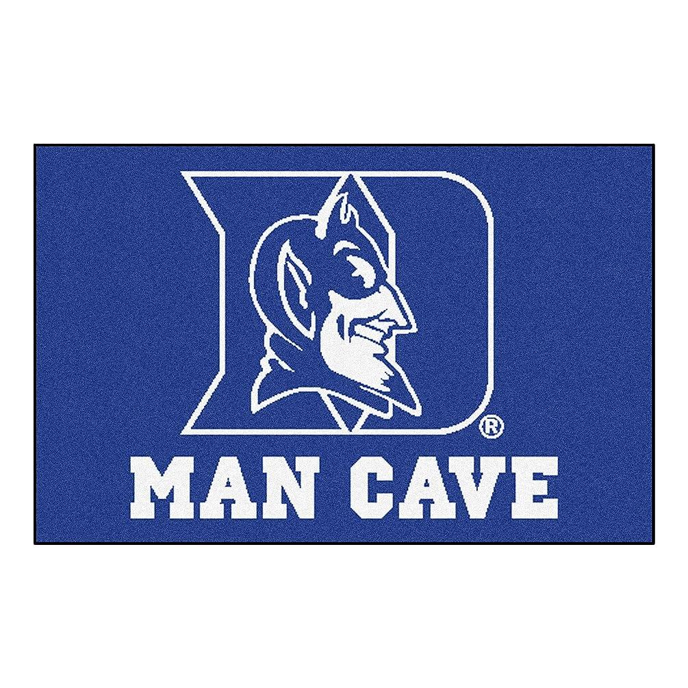 FANMATS 14540 Duke University Nylon Universal Man Cave Starter Rug