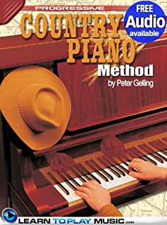 Country Piano Lessons: Teach Yourself How to Play Piano (Free Audio Available) (Progressive)