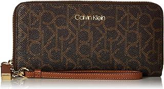 Calvin Klein Key Item Monogram Large Continental Zip Around Wallet
