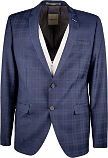 Benvenuto Luxury Fashion Mens 61566208951254 Blue Blazer | Season Outlet