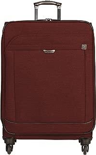 Malibu Bay 25-inch 4-Wheel Spinner Luggage, Wine