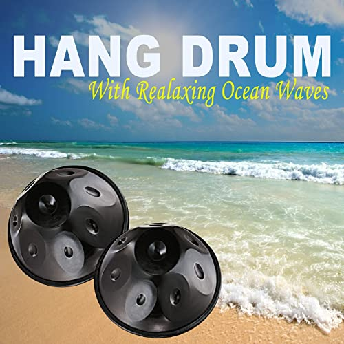 Hang Drum with Relaxing Ocean Waves - Healing Sounds for ...