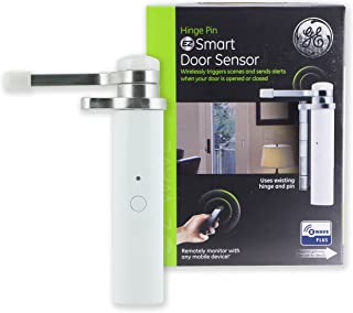 GE Enbrighten Z-Wave Smart Hinge Pin Door Sensor, Left or...