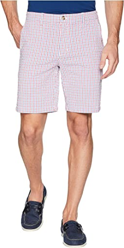 Seersucker Gingham Breaker Shorts