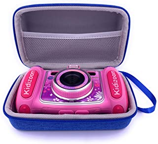 Xcivi Hard Carrying EVA Case for VTech Kidizoom Camera for Kids - Compatible with VTech KidiZoom Duo Selfie Cam, Duo 5.0, ...
