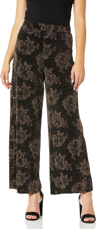 ECI New York Women's Floral Knit Pants