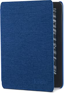 Capa de tecido para Kindle 10ª Geração – Cor Azul (não compatível com o Kindle 8ª Geração)