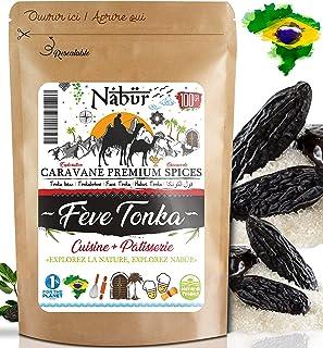 Nabür - Habas de Tonka de Brasil 100 Gr ⭐ Pastelería ⭐ Seleccionadas a mano, ricas, aromáticas ⭐ Gourmet, Degustación ⭐ Ch...