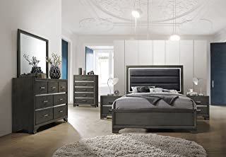 Amazon.com: Grey - Bedroom Sets / Bedroom Furniture: Home & Kitchen