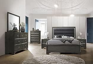 5 piece king size bedroom sets