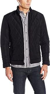 Emanuel Ungaro Emanuel Men's Urban Tech Diamond Quilted Jacket