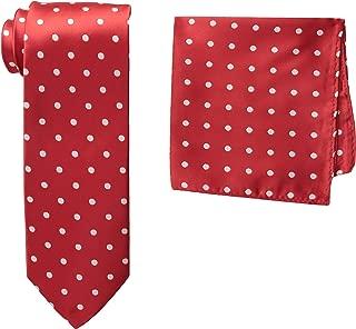 Men's Satin Dot Tie Set