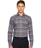 Eton - Slim Fit Knit Print Shirt