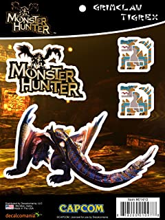 Monster Hunter Grimclaw Tigrex Sticker Decals for MacBook, Laptop, Vehicle Licensed by Capcom