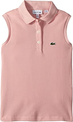 Lacoste Kids - Sleeveless Pique Polo (Toddler/Little Kids/Big Kids)