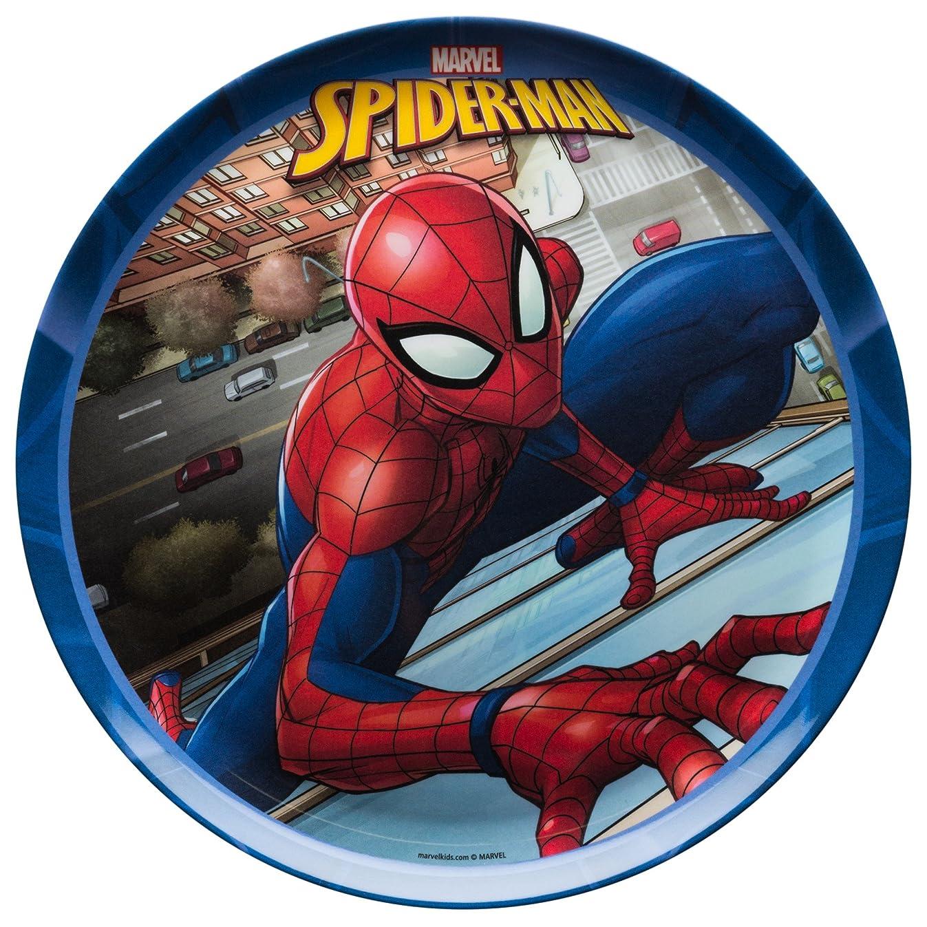 Zak Designs SDNU-0355 Marvel Comics Kid's Plates, 10.0