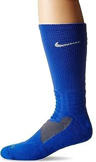 Hyper Elite Cushioned Basketball Crew Socks (Large)