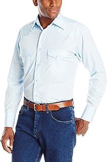 Wrangler Men's Sport Western Long Sleeve Snap Shirt