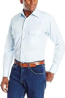 Wrangler Men's Sport Western Two Pocket Long Sleeve Snap...