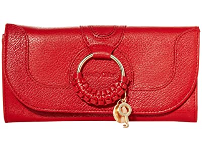 See by Chloe Hana Continental Wallet (Radiant Red) Handbags